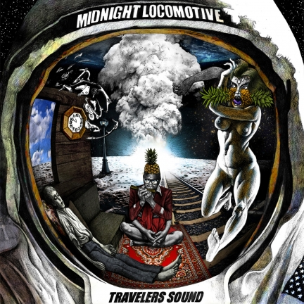 Midnight Locomotive – Slow March, When you are Gone (2014)