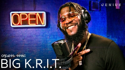Big K.R.I.T. « K.R.I.T. HERE » OPEN MIC (2019)