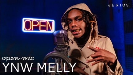 YNW MELLY «Murder on my mind» OPEN MIC (2018)